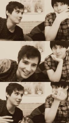 Dan loves Phil as his friend so very much. This friendship is just beautiful and I am so glad that hey have eachother!