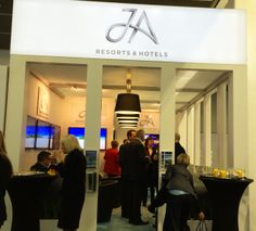 Standparty am JA Resorts & Hotels Stand.