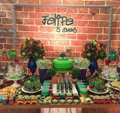 Dicas de decoração de festa infantil com flores http://inspiresuafesta.com/decoracao-de-festas-com-flores/