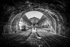 """Railway station """" Porto - São Bento """""""