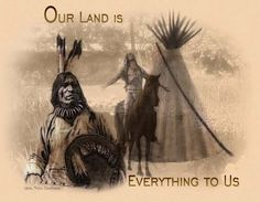 Its the almost the only thing we have left after white people invaded our land..