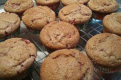 Erdbeer-Walnuß-Muffins (Rezept mit Bild) von Meike | Chefkoch.de