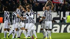 An Arturo Vidal treble against FC Copenhagen earns Juventus their first three points in the Champions League.