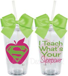 I TeachWhat's Your Superpower Teacher by LylaBugDesigns on Etsy, $15.00    I WANT THIS!  :)