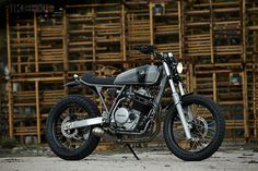 Here's the latest custom to roll out of the Madrid workshop of Cafe Racer Dreams.   CRD #19 is called 'Apolo' and is based on a 1991 Honda XR600. After a complete strip-down, the entire rear of the chassis was rebuilt to take the new seat unit and a sleek new tank—stolen from a Honda CG 125.