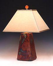 "Aurora Lamp by Mary Obodzinski (Ceramic Table Lamp) (22"" x 15"")"