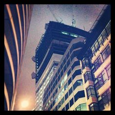 The #walkytalky emerges from the night #in #London