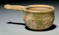A ROMAN LEAD GLAZED POTTERY PATERA | CIRCA 1ST CENTURY B.C./A.D. | 1st Century B.C., Ancient Art & Antiquities | Christie's