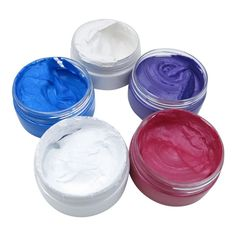 Disposable Hair Coloring Material Hair for DIY Hair Styling Design Healthy NEW Bed Head Small Talk, Hair Clay, Color Wow, Temporary Hair Color, Waxing Kit, Hair Pomade, Wax Hair Removal, Styling Tools