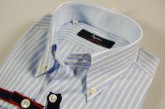 5401b6f40bbb05 Men's Fashion Collection Shop Online. No iron shirt ingram celestial  striped slim fit. Collection Abbigliamento Uomo