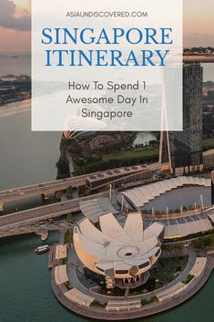 One Day in Singapore: How To Spend An Awesome Day In Singapore Singapore Travel Tips, Singapore Itinerary, Culture Of Singapore, Amazing Destinations, Travel Destinations, Bhutan, Asia Travel, Solo Travel, Travel Guides