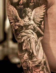 Full sleeve angel