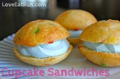 Cupcake Sandwiches — Love Eat Run