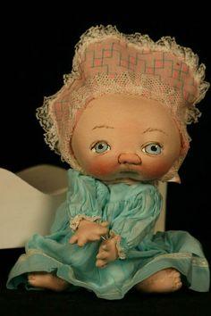 Jan Shackelford Dolls | Jan Shackelford Dolls one of a kind cloth doll artist