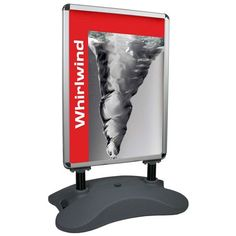 Whirlwind Swinging Pavement Sign Sandwich Board, How To Attract Customers, Outdoor Signs, Pavement, Bookends, Home Decor, Living Room, Hairstyle, Rain