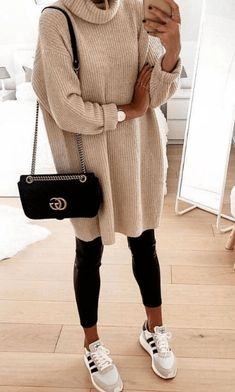 Cute casual winter fashion outfits for women fashion outfits, fall fashion .Cute casual winter fashion outfits for women fashion outfits, fall fashion stylish sweater outfits for the cold winter - stylish Winter Outfits For Teen Girls, Casual Winter Outfits, Winter Fashion Outfits, Spring Outfits, Trendy Outfits, Autumn Fashion, Girly Outfits, Winter Outfits 2019, Casual Attire