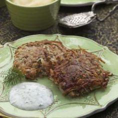 Healthy Potato Latkes Recipe