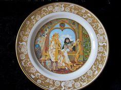 Vintage Rapunzel Plate  Porcelain Grimm's by JewelsOfHighElegance, $25.00