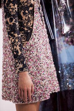 Embellishment Details | Dior | Haute Couture | SS 2015