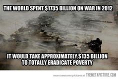 Obviously eradicating poverty isn't a priority now is it. Talk all you want, your actions speak much louder. Committees and reports don't feed the world in a system designed to keep them poor and hungry.