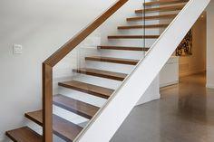 eleganckie połączenie materiałów Dunroben Shore Christopher Simmonds Architect