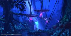 "LightWave 3D Artist: Rob Powers - ""Avatar"" Jungle created using the Virtual Art Department (VAD)."