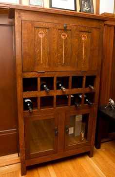 Mission-style Liquor Cabinet - DIY Project