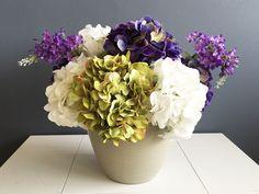 Hortensias y lilac