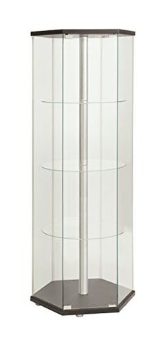 Coaster Corner Curio Cabinets 4 Shelf - 950185 | China & Curio ...