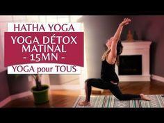 Routine de Yoga Détox du matin - 15 minutes (3/365) - YouTube