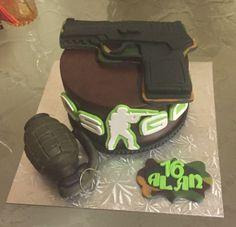 Look at my sick CS:GO cake #games #globaloffensive #CSGO #counterstrike #hltv #CS #steam #Valve #djswat #CS16