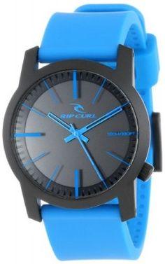 Relógio Rip Curl Men's A2698 - BLU Cambridge ABS Silicone Blue Analog Surf Watch #Relógio #Rip Curl