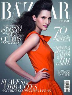 Katia Selinger na Harper's Bazaar Brasil de agosto
