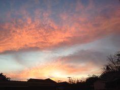 Céu hoje