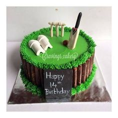 Image Result For Cricket Theme Cakes