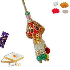 Zardoshi Lumba Rakhi. #lumba #Rakhi #RAkhiGifts#SendRakhi#OnlineRakhi#rakhitoindia Rakhi To India, Rakhi Online, Rakhi Gifts, Drop Earrings, Jewelry, Fashion, Jewellery Making, Jewlery, Jewelery