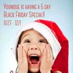 WOW!!! 5 day #BlackFriday Event! Follow my Facebook page to see what it is all about!!  http://www.fb.com/BeyouniquewithRenee