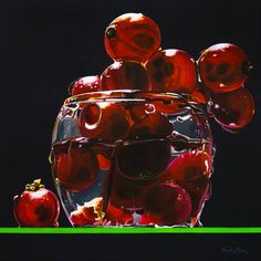 Red of woods - acrilic on canvas - Giulia Riva