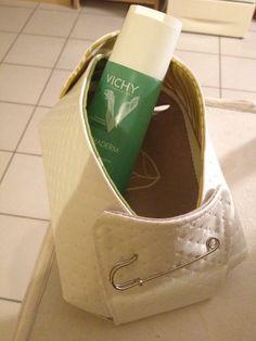 Vide-poche, panier gourmand ou boîte à merveilles, votre imagination saura lui donner sa place...