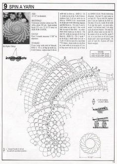 Decorative Crochet Magazines 26 - Gitte Andersen - Álbuns da web do Picasa Mandala Au Crochet, Crochet Angel Pattern, Free Crochet Doily Patterns, Crochet Doily Diagram, Crochet Chart, Filet Crochet, Irish Crochet, Crochet Motif, Crochet Books