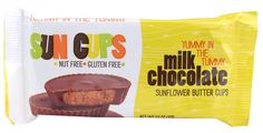 Sun Cups Milk Chocolate, Sunflower Butter Cups, Ounce (Pack of Sun Cups Nut Free Snacks, Snacks List, Gourmet Food Store, Gourmet Recipes, Dye Free Foods, Sunflower Butter, Tummy Yummy, Dairy Free Chocolate, Cups