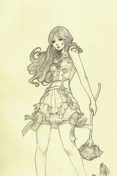 Yasahime (more drawings on etsy *-*)