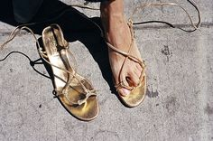 ALWAYS OUT SANDAL, GOLD