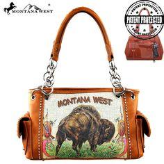 Montana West Concealed Carry Buffalo Handbag (MW275G-8085) – Handbag-Addict.com