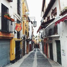 Streets of Granada // Spain