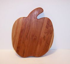 Pumpkin Cutting Board Handcrafted from Cherry Hardwood by tomroche, $20.00