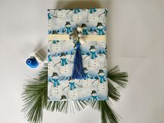 No Sew Holiday Project with Robison-Anton Floss Anton, Embroidery Thread, Embellishments, Tassels, Gift Wrapping, Sewing, Holiday, Projects, Gifts