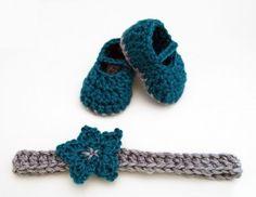 Free Crochet Pattern: Six Styles of Baby Headbands | Charmed By Ewe