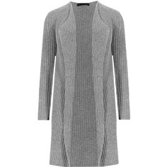 Pure Cashmere Open Front Waterfall Cardigan M&S ($215) ❤ liked on Polyvore featuring tops, cardigans, open front tops, cashmere open front cardigan, cashmere waterfall cardigan, waterfall cardigan and cashmere tops