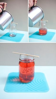 Mason Jar candles! I can't wait to do this.
